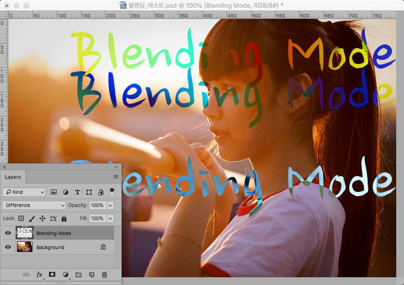 Blending-Difference