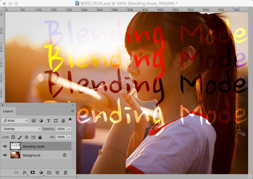 Blending-Overlay